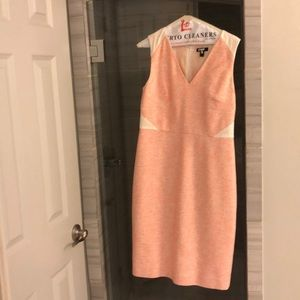 J crew sleeveless tweed dress. Work dress